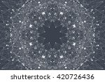 geometric graphic background... | Shutterstock .eps vector #420726436