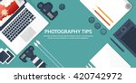photography equipment with... | Shutterstock .eps vector #420742972