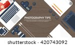 photography equipment with... | Shutterstock .eps vector #420743092