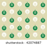 sweetie tree wallpaper | Shutterstock .eps vector #42074887