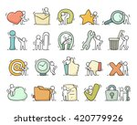 Multimedia Icons Set With...