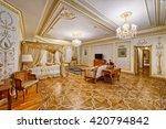 luxurious interiors | Shutterstock . vector #420794842
