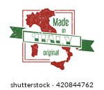 made in italy stamp | Shutterstock .eps vector #420844762