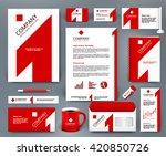 professional universal branding ... | Shutterstock .eps vector #420850726