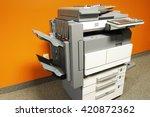 copier in office | Shutterstock . vector #420872362
