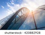 bright outlook for business.... | Shutterstock . vector #420882928
