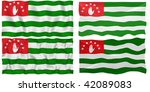 great image on white of four... | Shutterstock . vector #42089083