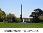 washington  dc   apr 17  view... | Shutterstock . vector #420893815