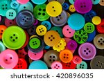 buttons background with round... | Shutterstock . vector #420896035