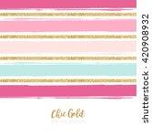 modern chic gold background... | Shutterstock .eps vector #420908932