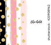 Modern Chic Gold Background...