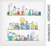 laboratory research | Shutterstock .eps vector #420913642