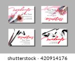 Makeup Artist Business Card....