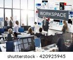 documents paperwork data... | Shutterstock . vector #420925945