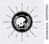 american football design  | Shutterstock .eps vector #420935962