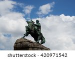 ukrainian hetman bogdan...   Shutterstock . vector #420971542