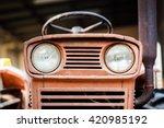 Headlight Rusty Vintage Farm...