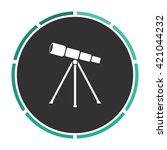 telescope simple flat white...