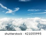 Aerial View Of Clouds And...