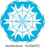 snowflake pattern | Shutterstock .eps vector #42106372