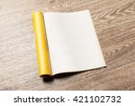 magazine pages | Shutterstock . vector #421102732