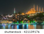 Istanbul Skyline From Galata...