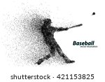 Silhouette Of A Baseball Player ...