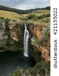 blyde  berlin falls  south... | Shutterstock . vector #421155022