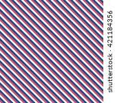 seamless linear pattern. | Shutterstock .eps vector #421184356