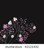 decorative background with... | Shutterstock .eps vector #42121432