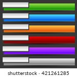 colorful button  banner...