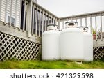 Propane Cylinders In The...