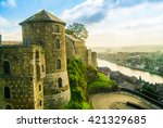 View of Citadel of Namur, Wallonia, Belgium
