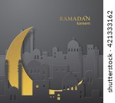 Ramadan Greetings Paper Cut...