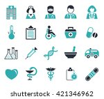 medical icons | Shutterstock .eps vector #421346962
