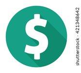 money icon flat logo commercial ... | Shutterstock .eps vector #421348642