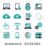 computer icons | Shutterstock .eps vector #421352362
