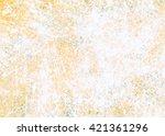 designed grunge paper texture...   Shutterstock . vector #421361296