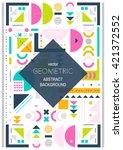 modern background line art. ... | Shutterstock .eps vector #421372552