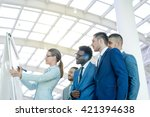 business people in office | Shutterstock . vector #421394638