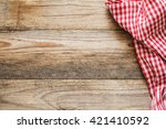 cooking food   pizza wooden... | Shutterstock . vector #421410592