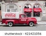 prague  czech republic may 15 ... | Shutterstock . vector #421421056