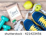 Sport Shoes  Apples  Bottle Of...
