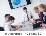 startup business  young... | Shutterstock . vector #421436752