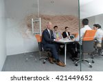 business people group... | Shutterstock . vector #421449652
