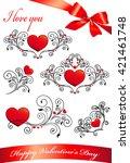 love hearts    Shutterstock . vector #421461748