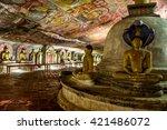 dambulla  sri lanka   march 26  ...   Shutterstock . vector #421486072