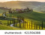 Panoramic View Of A Spring Day...