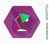 table lamp icon   vector flat... | Shutterstock .eps vector #421547722