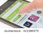 melbourne  australia   may 17 ...   Shutterstock . vector #421580575